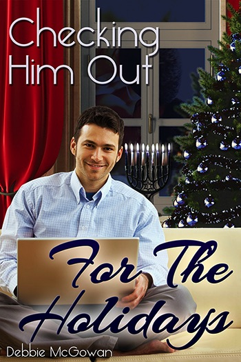 Checking Him Out For The Holidays (Checking Him Out Novella) Cover