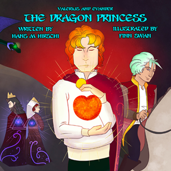 The Dragon Princess (Valerius and Evander #1) Cover