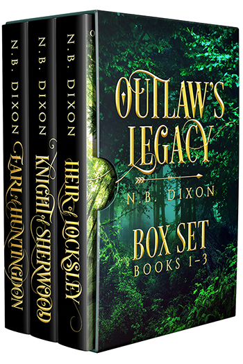 Outlaw's Legacy Box Set: Books 1-3 Cover