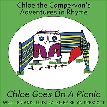 Chloe Goes on a Picnic (Chloe the Campervan's Adventures in Rhyme) Cover