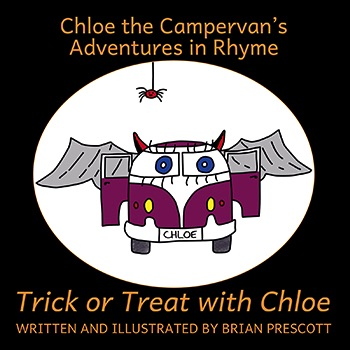 Trick or Treat With Chloe (Chloe the Campervan's Adventures in Rhyme) Cover