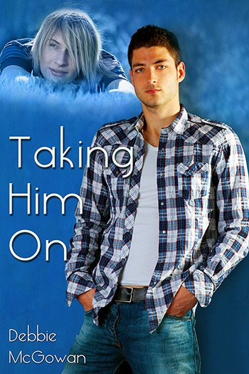 Taking Him On (Checking Him Out #2) Cover