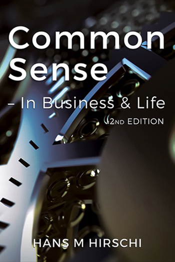 Common Sense - In Business & Life Cover