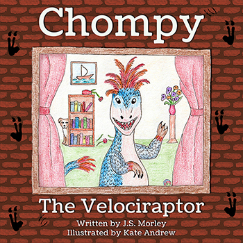 Chompy the Velociraptor Cover