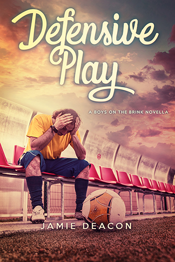 Defensive Play (Boys on the Brink Novella) Cover