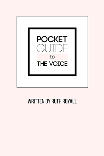 Pocket Guide to the Voice Cover